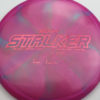 Stalker - Titanium Swirl - Ledgestone - Paige Pierce - pink-hexagons - 175-176g - 176-4g - somewhat-domey - somewhat-stiff