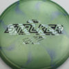 Stalker - Titanium Swirl - Ledgestone - Paige Pierce - zebra - 175-176g - 176-6g - pretty-domey - somewhat-stiff