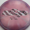 Stalker - Titanium Swirl - Ledgestone - Paige Pierce - zebra - 175-176g - 176-3g - somewhat-flat - somewhat-stiff