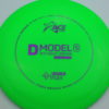 D Model S - green - dura-flex - purple - 304 - 174g - 176-1g - somewhat-domey - somewhat-stiff