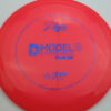 D Model S - redpink - dura-flex - blue-fracture - 304 - 174g - 175-0g - pretty-flat - somewhat-stiff
