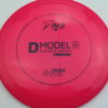 D Model S - pink - dura-flex-glow - black - rainbow - 174g - 174-9g - somewhat-domey - pretty-stiff