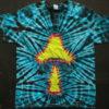 Tie-Dye Shirt - Twisted Amanita - large