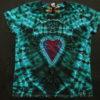 Tie-Dye Shirt - Twisted Amanita - ladys-xl