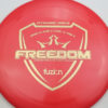 Freedom - redpink - fuzion - gold - 173g - 174-7g - somewhat-flat - neutral
