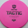 Discmania Tactic - pink - exo-hard - black - 173g - 174-0g - somewhat-puddle-top - pretty-stiff