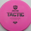 Discmania Tactic - pink - exo-hard - black - 173g - 173-9g - somewhat-puddle-top - pretty-stiff