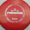 Freedom - redpink - biofuzion - silver - 173g - 174-2g - neutral - somewhat-stiff