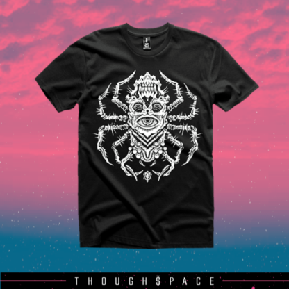 Thought Space Athletics Eyerachnid shirt.
