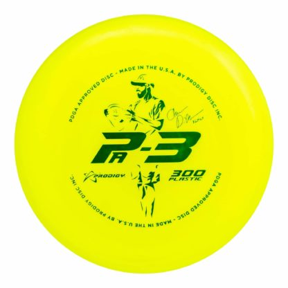 The Dickerson Pa3 in 300 plastic, yellow plastic.
