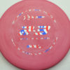 PA3 - redpink - 300-soft - flag - 304 - 174g - 174-3g - somewhat-puddle-top - pretty-gummy