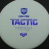 Discmania Tactic - white - exo-hard - blue - 175g - 175-3g - somewhat-puddle-top - pretty-stiff