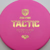 Discmania Tactic - pink - exo-hard - gold - 173g - 174-0g - somewhat-puddle-top - pretty-stiff