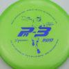Colglazier Pa3 - green - dark-blue - 174g - 174-7g - somewhat-puddle-top - somewhat-stiff