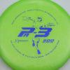 Colglazier Pa3 - green - dark-blue - 174g - 175-3g - somewhat-puddle-top - somewhat-stiff