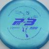 Colglazier Pa3 - blue - dark-blue - 173g - 173-6g - super-flat - somewhat-stiff