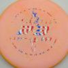 Dickerson Pa3 - pinkorange - flag - 172g - 170-4g - super-flat - somewhat-stiff