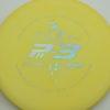 Dickerson Pa3 - yelloworange - silver - 173g - 171-7g - super-flat - somewhat-stiff