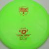 CD2 - green - s-line - red - 304 - 172g - 171-1g - pretty-domey - somewhat-stiff