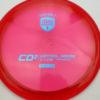 CD2 - redpink - c-line - blue - 304 - 170g - 170-4g - pretty-domey - somewhat-stiff