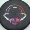 Pilot - Electron Soft - black - black - red-pink - silver - 175g - 176-8g - puddle-top - somewhat-gummy