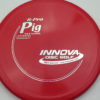Pig - red - r-pro - silver - 304 - 175g - 172-8g - pretty-domey - somewhat-stiff