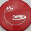 Pig - red - r-pro - silver - 304 - 175g - 173-7g - somewhat-domey - somewhat-stiff