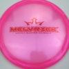 Melvrick - Zach Melton Glimmer Lucid-X Maverick - pink - red - 175g - 176-1g - pretty-domey - somewhat-stiff