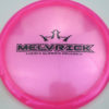 Melvrick - Zach Melton Glimmer Lucid-X Maverick - pink - black - 175g - 175-9g - pretty-domey - somewhat-stiff