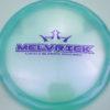 Melvrick - Zach Melton Glimmer Lucid-X Maverick - blue - purple - 176g - 176-3g - pretty-domey - somewhat-stiff