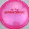 Melvrick - Zach Melton Glimmer Lucid-X Maverick - pink - red - 176g - 176-3g - pretty-domey - somewhat-stiff