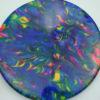 Jeff Ash Brainwave Dyed Discs - harp - 4722 - 4726 - tournament - red - 173g - 173-2g - pretty-flat - neutral