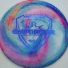Jeff Ash Brainwave Dyed Discs - enforcer - fuzion - 4726 - 6055 - dark-blue - 173g - 174-5g - neutral - somewhat-stiff