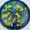 Jeff Ash Brainwave Dyed Discs - raider - fuzion - 4726 - 6055 - gold - 173-175g-2 - 174-9g - somewhat-domey - neutral