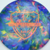 Jeff Ash Brainwave Dyed Discs - enforcer - fuzion - 4726 - 6055 - bronze - 174g - 175-5g - neutral - neutral