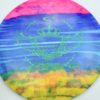 Jeff Ash Brainwave Dyed Discs - emac-truth - 4722 - gold - 6055 - green - 175g - 176-2g - pretty-domey - neutral