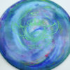 Jeff Ash Brainwave Dyed Discs - emac-truth - 4722 - gold - 6055 - green - 173g - 175-0g - somewhat-domey - neutral