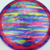 Jeff Ash Brainwave Dyed Discs - raider - fuzion - 4726 - 6055 - blue - 175g - 176-4g - somewhat-domey - neutral
