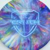 Jeff Ash Brainwave Dyed Discs - emac-truth - fuzion - 4726 - 6055 - blue - 177g - 179-2g - neutral - neutral