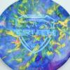 Jeff Ash Brainwave Dyed Discs - emac-truth - fuzion - 4726 - 6055 - blue - 180g - 180-5g - neutral - neutral