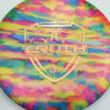 Jeff Ash Brainwave Dyed Discs - emac-truth - fuzion - 4726 - 6055 - gold - 178g - 179-4g - somewhat-flat - neutral