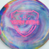 Jeff Ash Brainwave Dyed Discs - emac-truth - fuzion - 4726 - 6055 - pink - 180g - 181-3g - neutral - neutral