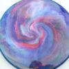 Jeff Ash Brainwave Dyed Discs - harp - 4722 - 4726 - tournament - blue - 173g - 173-6g - super-flat - neutral