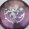 Glimmer Lucid-X EMac Truth - gray-purple - silver - 177g - 178-6g - pretty-domey-in-the-center - somewhat-stiff