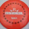 BioFuzion Raider - pinkorange - black - silver-fracture - 174g - 175-8g - neutral - somewhat-stiff