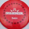 BioFuzion Raider - redpink - black - silver-fracture - 173g - 174-6g - neutral - somewhat-stiff