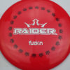 BioFuzion Raider - redpink - black - silver-fracture - 173g - 174-8g - neutral - somewhat-stiff