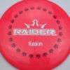 BioFuzion Raider - redpink - black - silver-fracture - 174g - 175-1g - neutral - somewhat-stiff