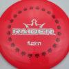 BioFuzion Raider - redpink - black - silver-fracture - 174g - 175-4g - neutral - somewhat-stiff