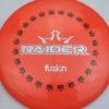 BioFuzion Raider - pinkorange - black - silver-fracture - 174g - 175-4g - somewhat-domey - somewhat-stiff